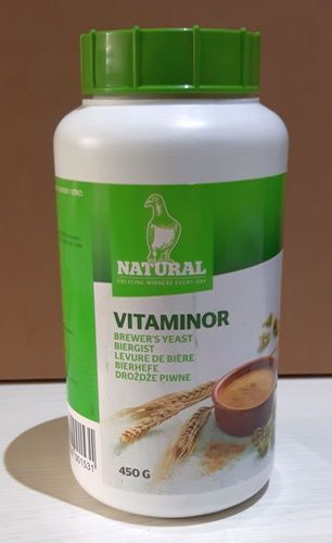 Natural Vitaminor Bierhefe 450g