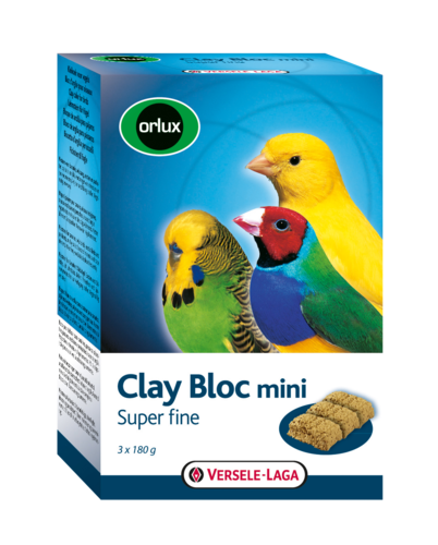 Orlux Clay Bloc mini 3 x 180g