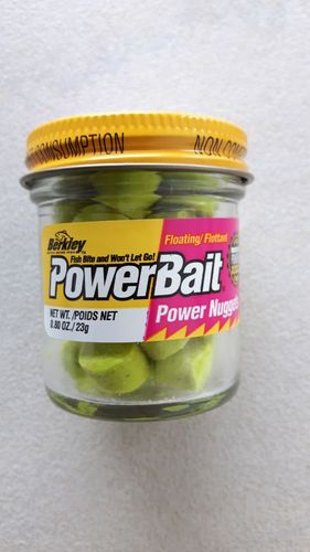 Berkley powerbait floating power nuggets 23g charteuse